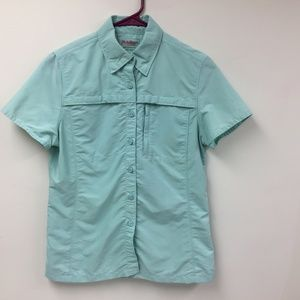LL Bean Women's Utility Shirt XS REG Golf Fishing